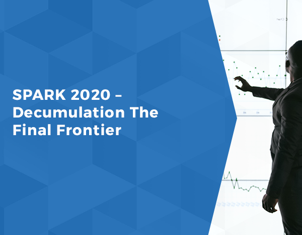 SPARK 2020 – Decumulation The Final Frontier